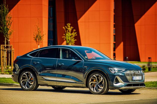 Audi e-tron Sportback piedzīvo pirmizrādi Latvijā 9