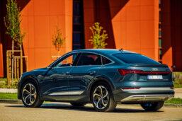 Audi e-tron Sportback piedzīvo pirmizrādi Latvijā 2