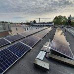 Gulbenes pašvaldības administrācijas ēkas saules paneļi
