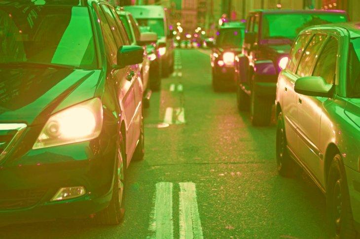 zaļš transports