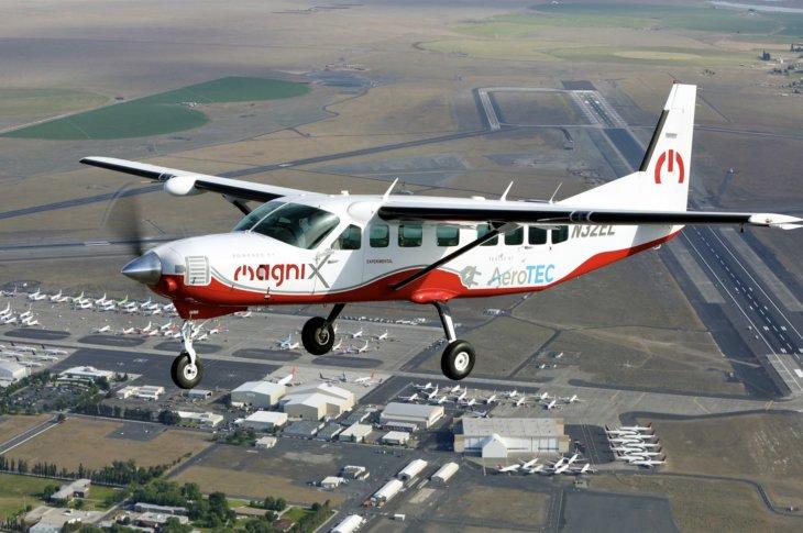 eCaravan elektriskā lidmašīna