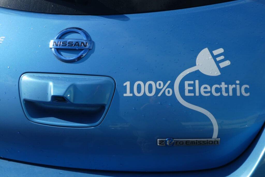 Nissan Leaf bagāžnieks
