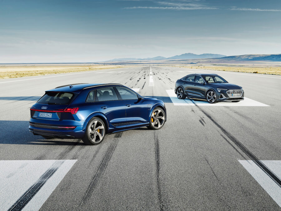 Audi e-tron S un e-tron S Sportback