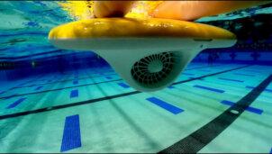 Mācies peldēt ar LESWIM elektrisko pelddēli 7