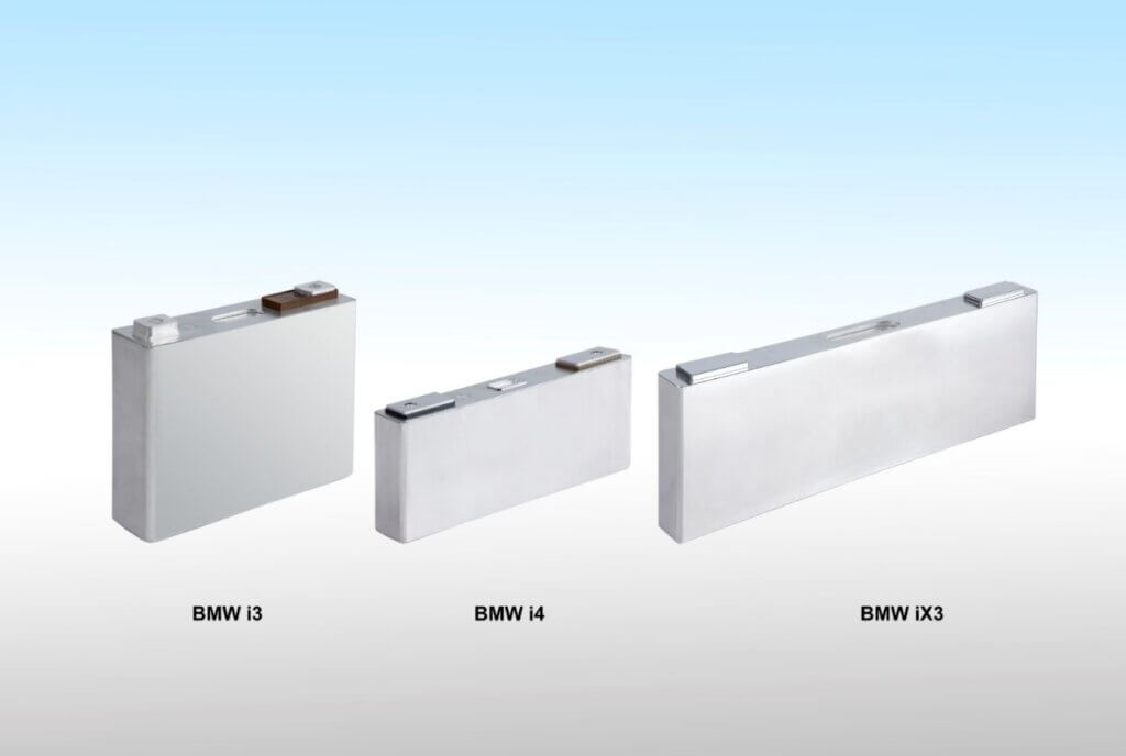 BMW i3 pret BMW i4 pret BMW iX3 baterijas