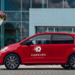 Carguru koplietošanas elektroauto VW e-up!