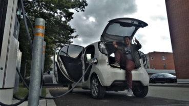 1000km brauciens ar 2012.g. Citroen C-Zero elektroauto (+video) 5
