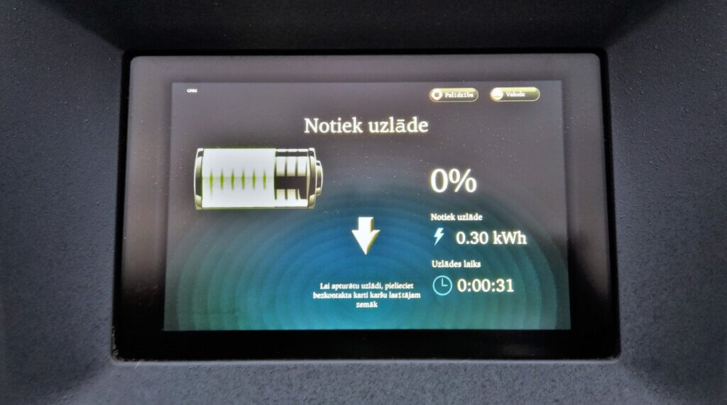 Nissan eNV200 0% uzlāde