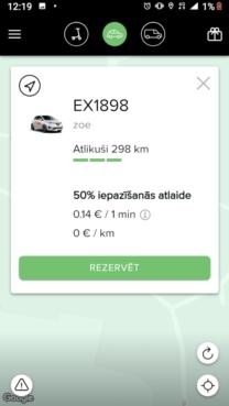 Prezentēts Latvijas pirmais elektroauto koplietošanas pakalpojums (+video) 6