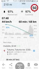 1000km brauciens ar 2012.g. Citroen C-Zero elektroauto (+video) 6