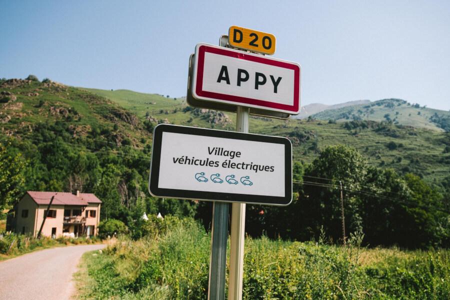 Appy pilsētas zīme