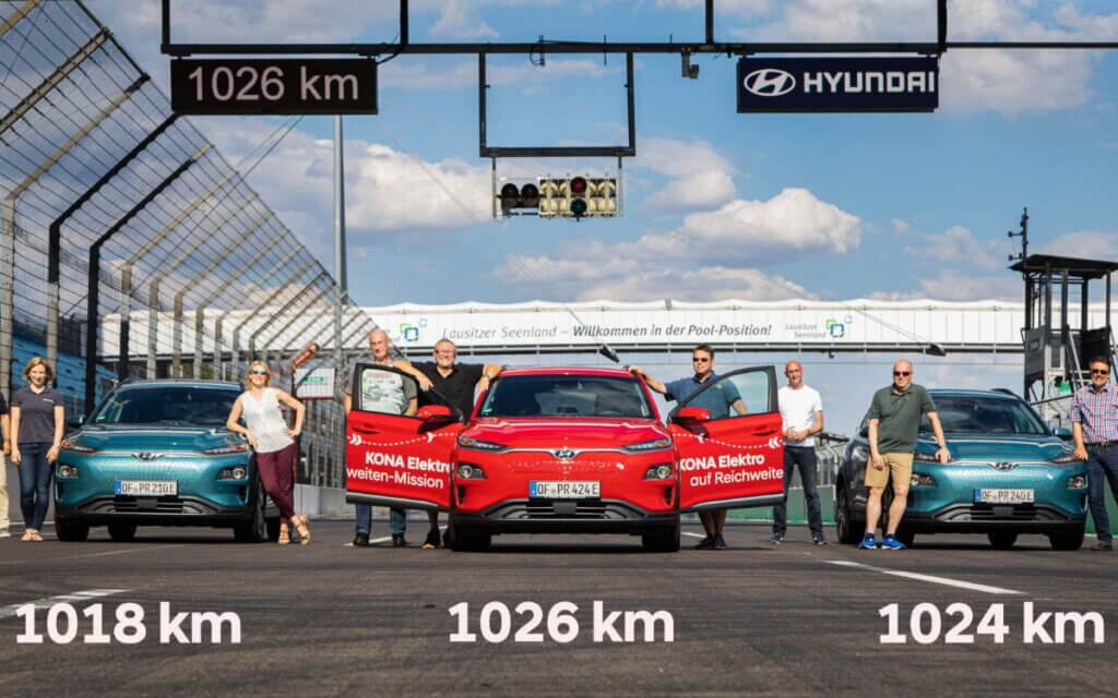 Hyundai Kona Electric rekords