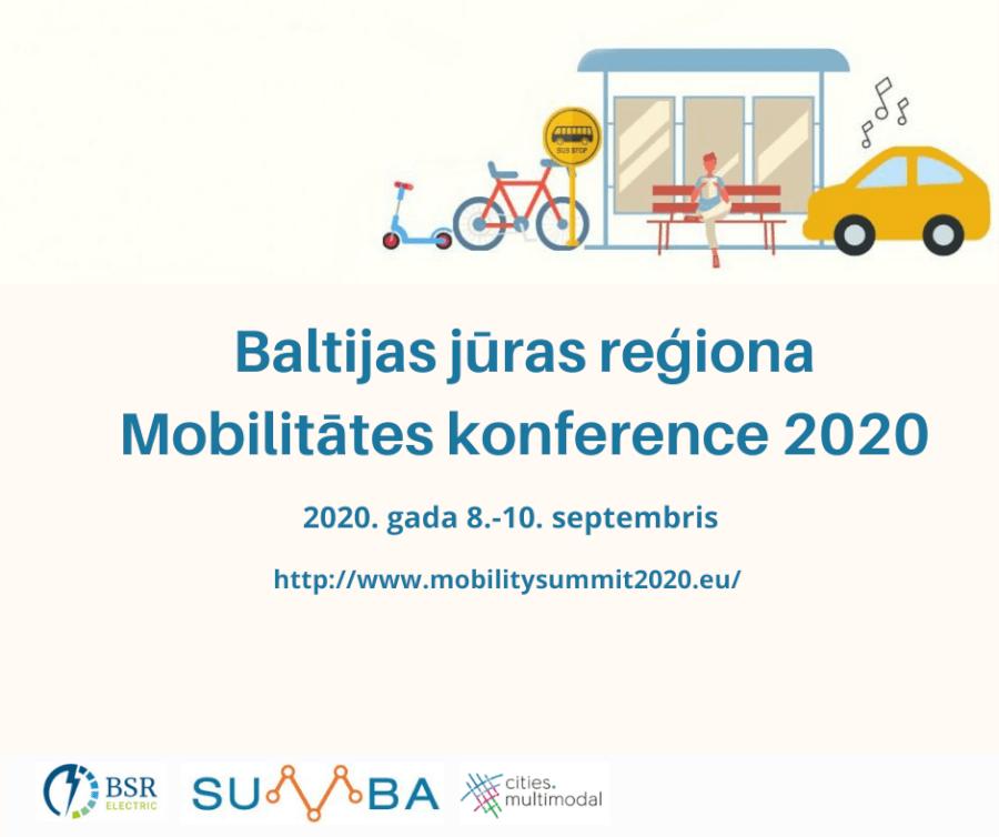 Baltijas jūras reģiona Mobilitātes konference 2020