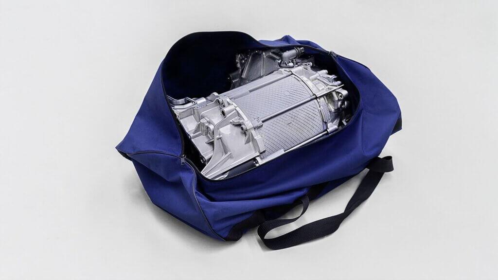 VW ID.3 elektriskais motors ietilpst sporta somā