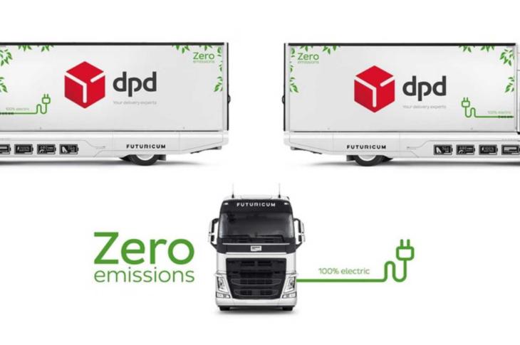DPD elektriskais kravu pārvadātājs