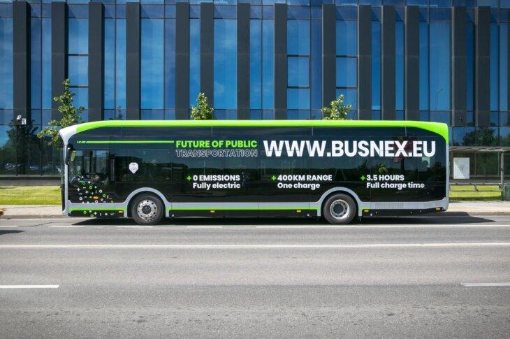Yutong Bus elektriskais autobuss