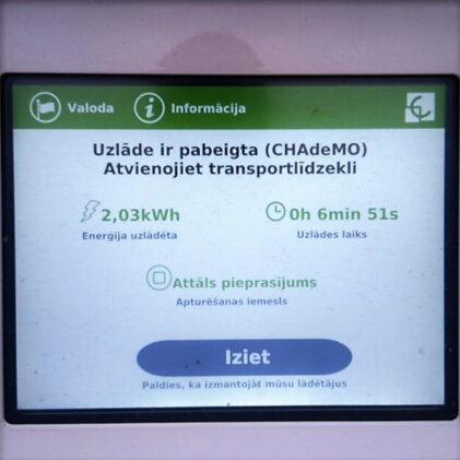 Latvijā ir pieejamas par 40 ātrajām uzlādes stacijām vairāk [papildināts] 3