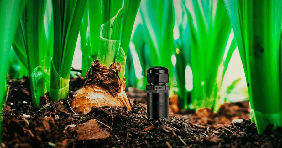 Bioo augsnes baterijas panelis