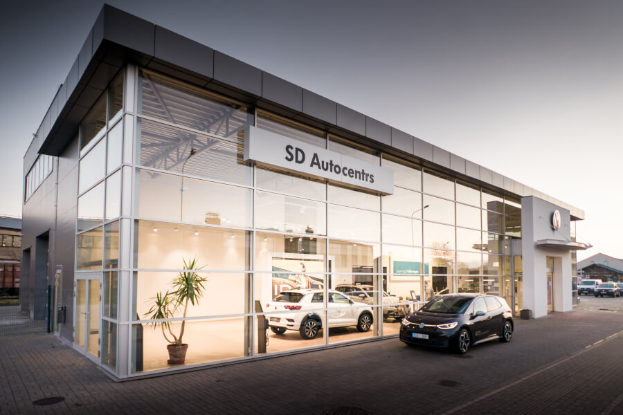 VW dīlercentrs SD Aucentrs Liepājā