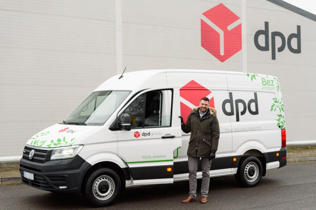 DPD Volkswagen e-Crafter