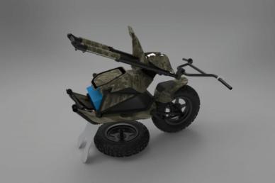 Mosphera - Latvijā ražots unikāls bezceļu elektriskais skrejritenis 4