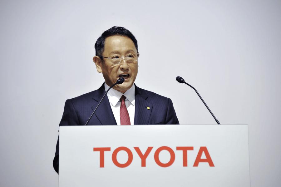 Akio Toyoda. Toyota izpilddirektors