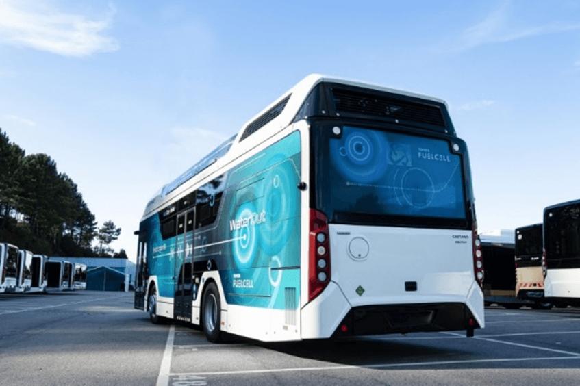CaetanoBus, Finlog un Toyota autobuss