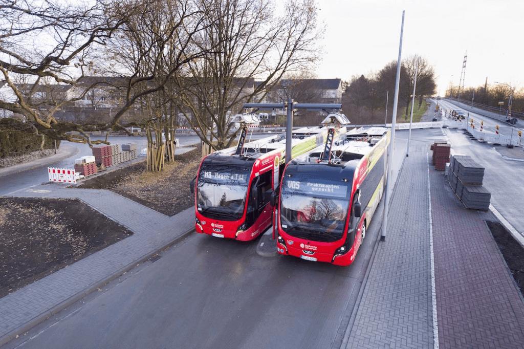 Osnabrikas elektriskie pantogrāfa autobusi