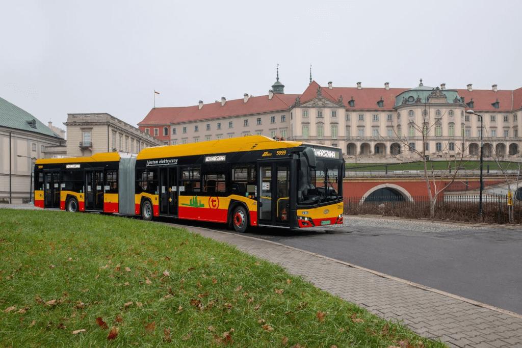Varšavas elektriskie autobusi