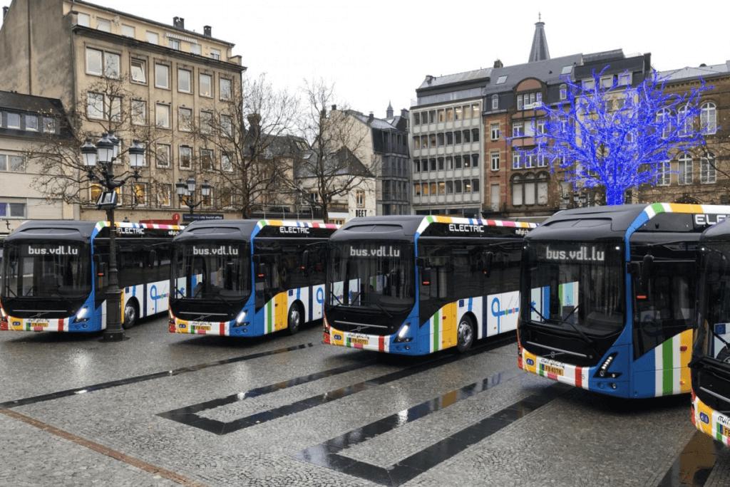 Luksemburgas elektriskie autobusi