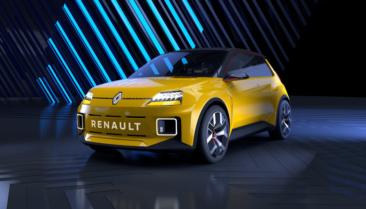 Atrāda Renault Mégane E-Tech Electric pirms ražošanas 5