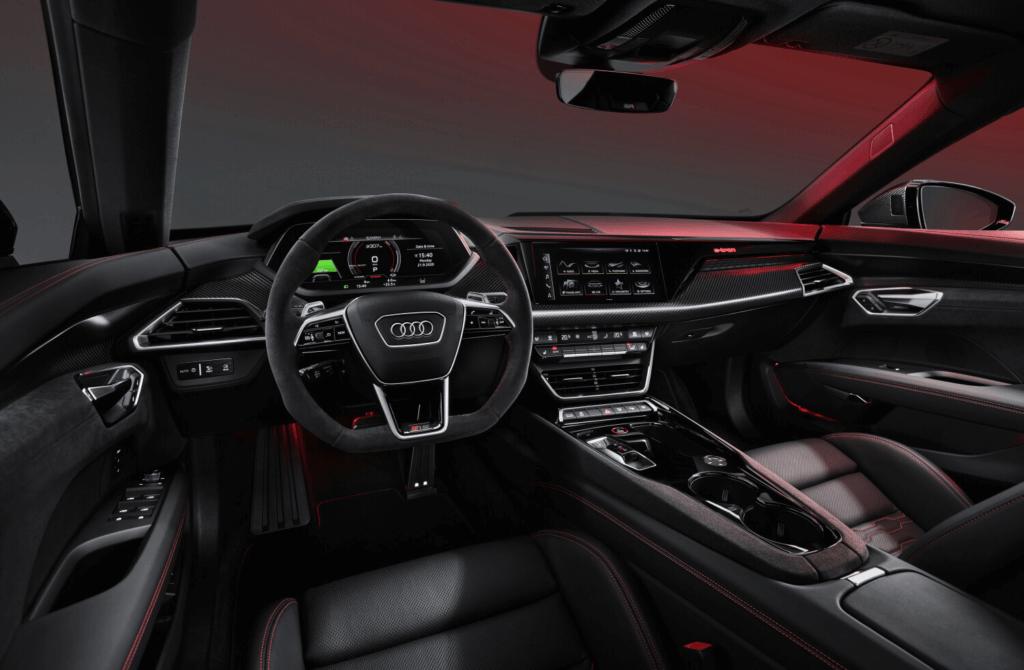Audi RS e-tron GT interjers