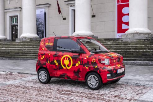 Dartz FreZe Nikrob ir lētākais elektroauto Eiropā un ar saknēm Latvijā 1
