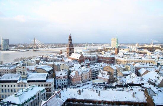 Rīgas skats no Pēterbaznīcas
