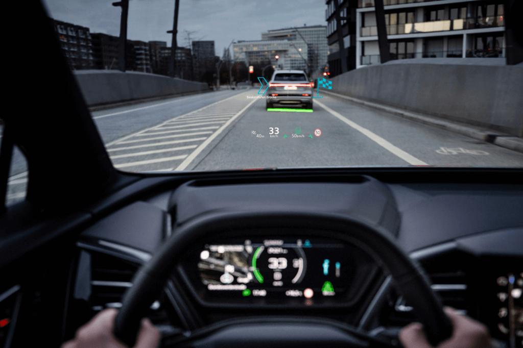 Audi Q4 e-tron HUD