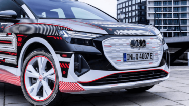 Audi atrāda Q4 e-tron pirms pirmizrādes 2