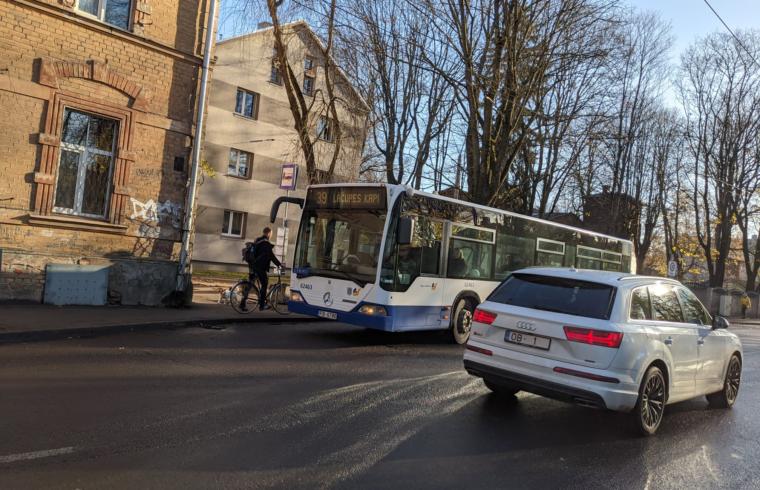 Rīgas Satiksme autobuss