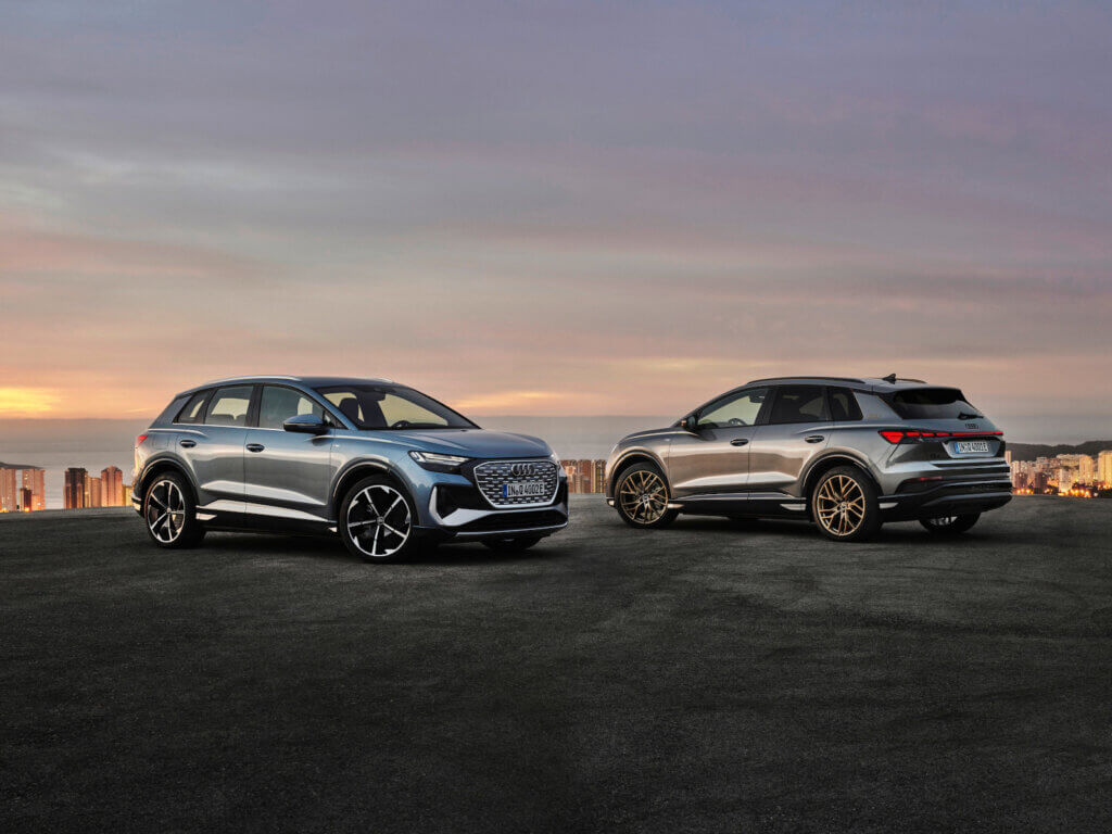 Audi Q4 50 e-tron quattro / Audi Q4 50 e-tron quattro
