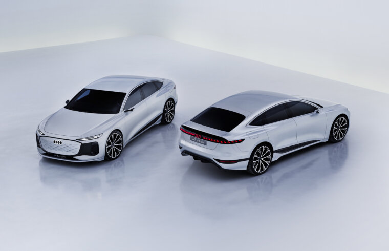 Audi A6 e-tron concept