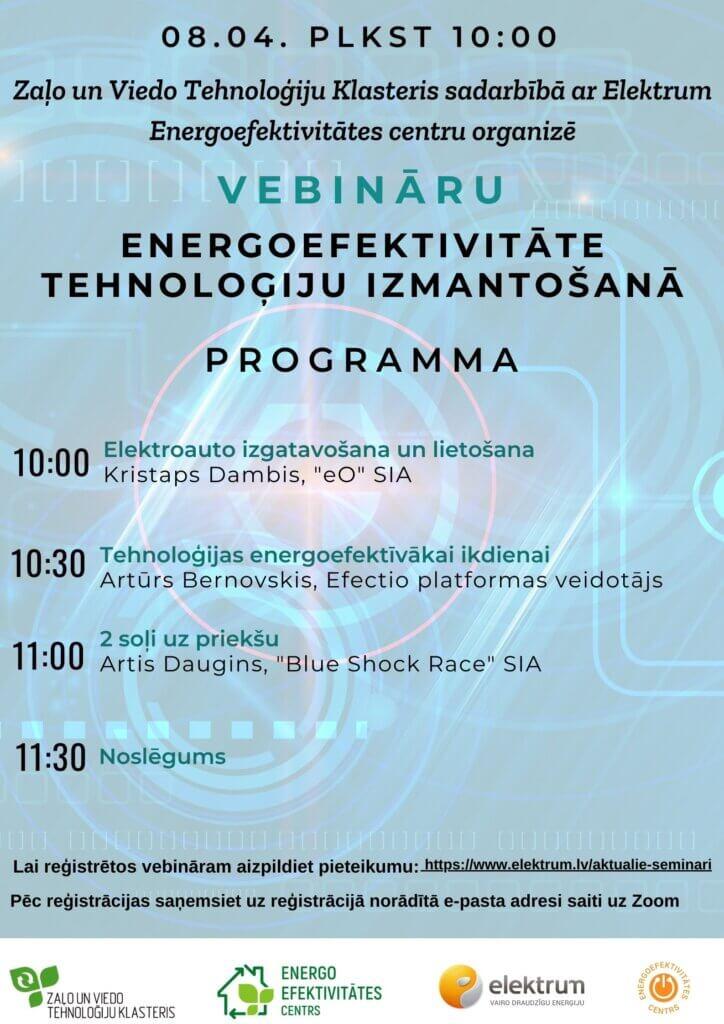 Energoefektivitāte tehnoloģiju izmantošanā