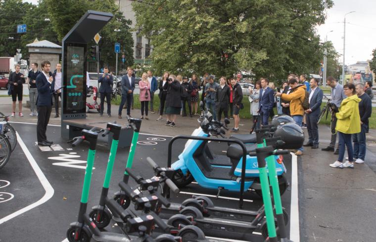 VEF mobilitātes punkta atklāšana