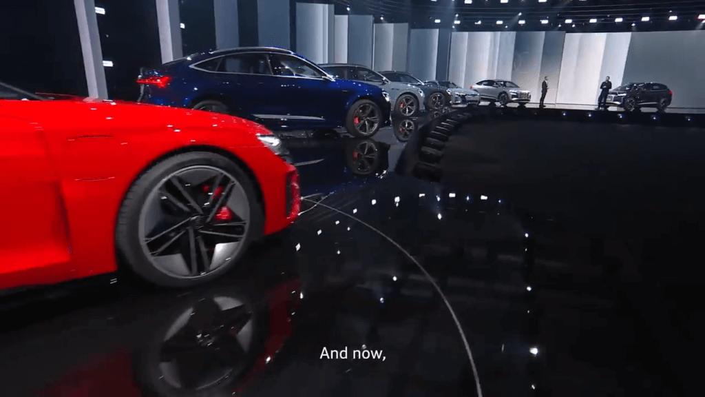 Audi e-tron piedāvājums