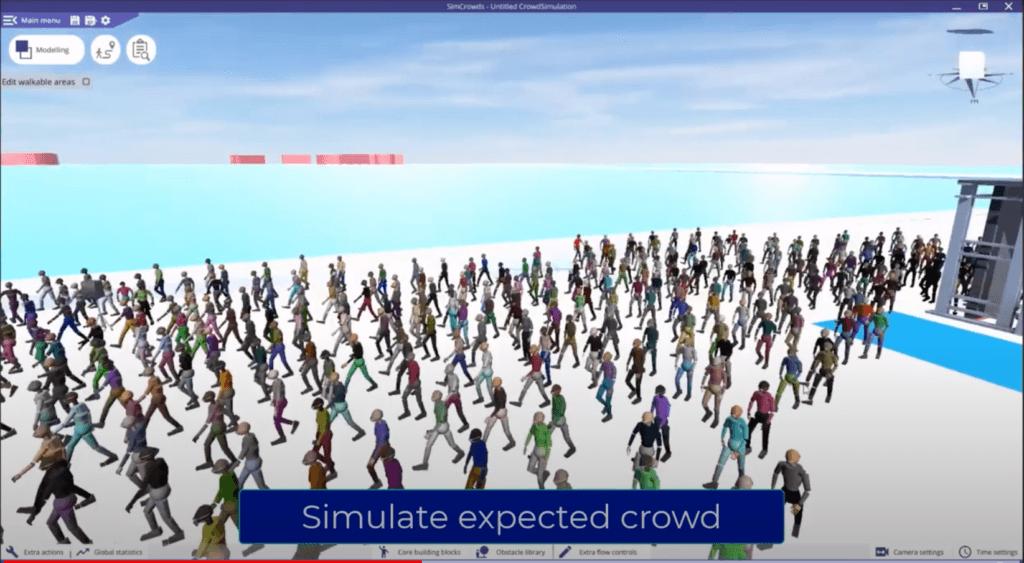 PūļaSim simulācija