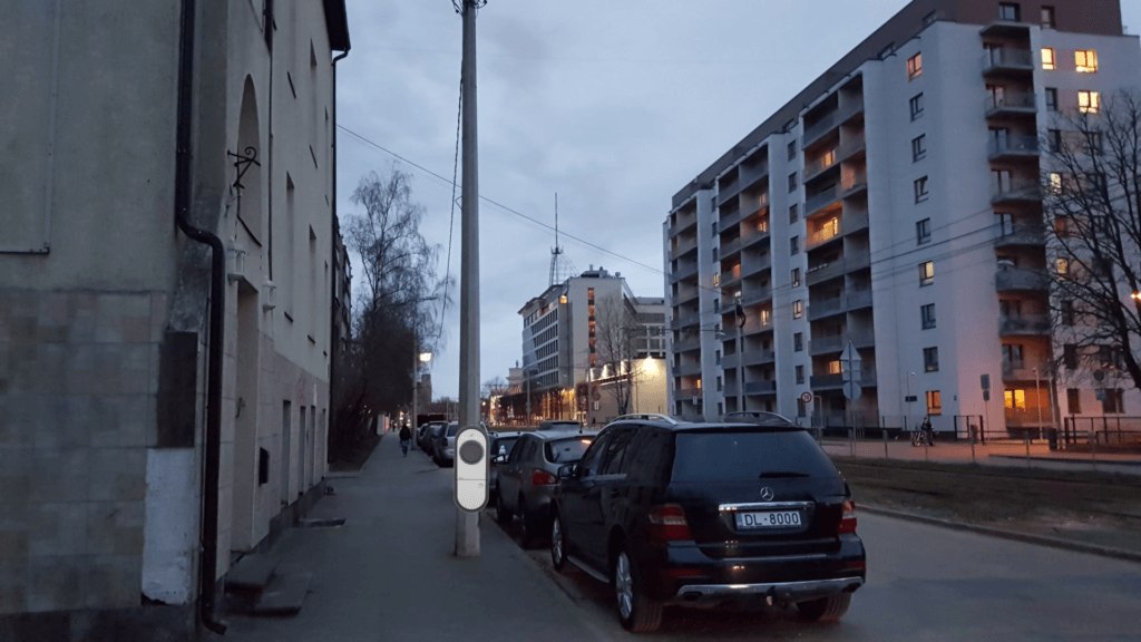 Smart Street charging skice