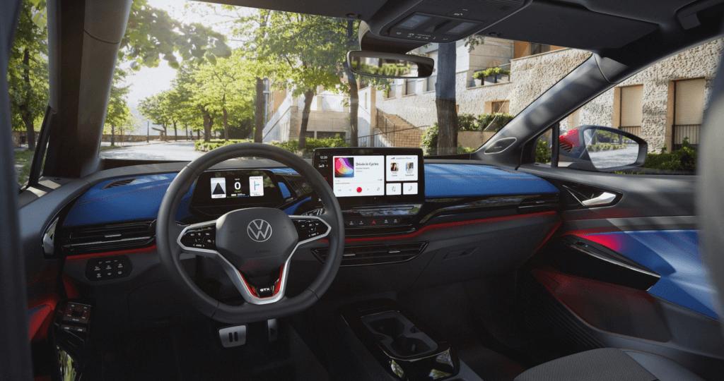 Volkswagen ID.4 GTX interjers