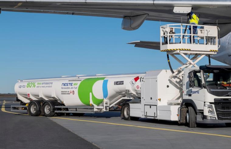 Neste MY renewable jet fuel (SAF)