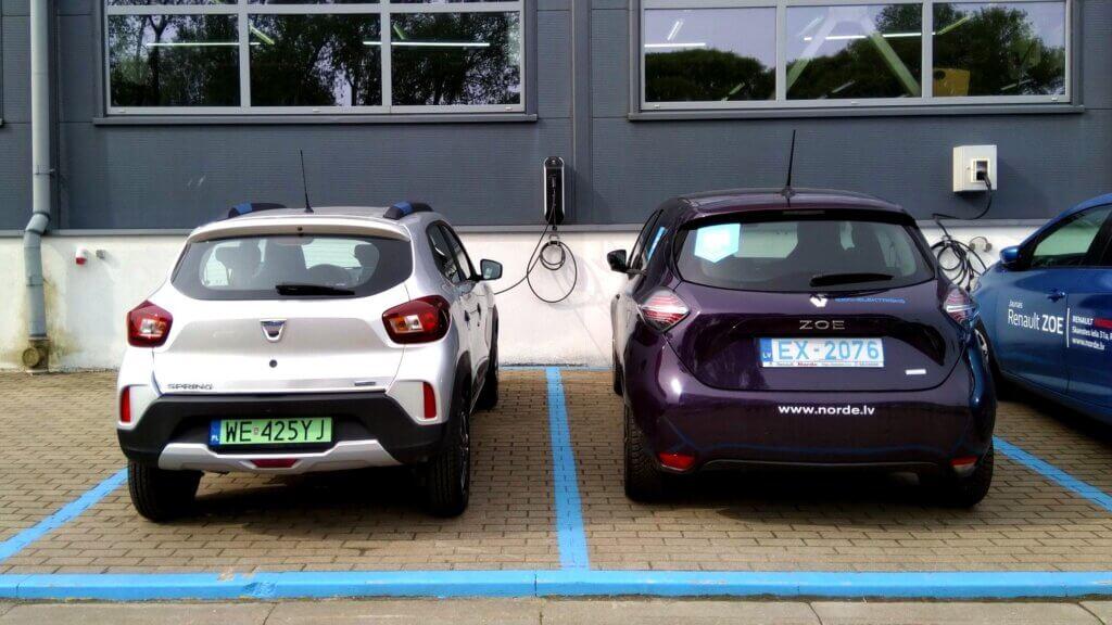 Dacia Spring Electric blakus Renault Zoe