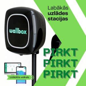 Uzlādēts veikals/Wallbox Pulsar Plus