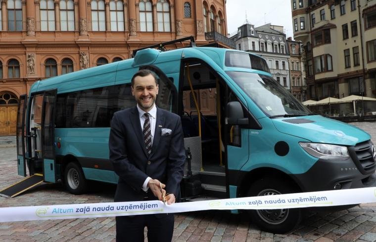 Electrify mikroautobusi Altum