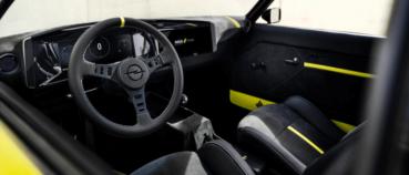 Opel atrāda Manta EV pārveidots retromodelis ar manuālo pārnesumkārbu 3